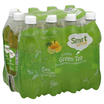 Kmart Corporation Green Tea, Citrus, 12 - 16.9 fl oz (500 ml) bottles [202.8 oz (6 lt)]