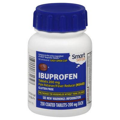 Kmart Corporation Smart Sense Ibuprofen, 200 mg, Coated Tablets 250 tablets