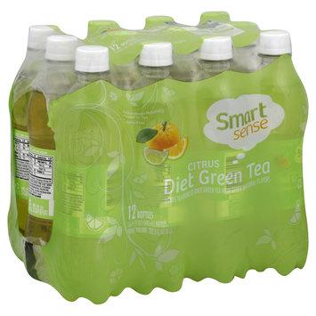Kmart Corporation Green Tea, Diet, Citrus, 12 - 16.9 fl oz (500 ml) bottles [202.8 oz (6 lt)]