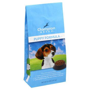 Champion Breed Dog Food, Puppy Formula, 4.4 lb (1.99 kg) - KMART CORPORATION