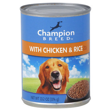 Champion Breed Dog Food, with Chicken & Rice, 13.2 oz (374 g) - KMART CORPORATION