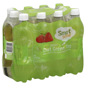 Kmart Corporation Green Tea, Diet, Berry, 12 - 16.9 fl oz (500 ml) bottles [202.8 oz (6 lt)]