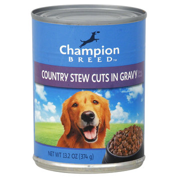 Champion Breed Dog Food, Country Stew Cuts in Gravy, 13.2 oz (374 g) - KMART CORPORATION
