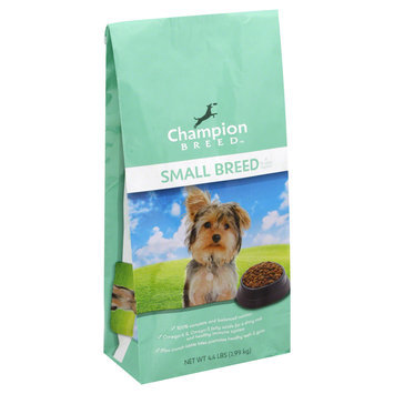 Champion Breed Dog Food, All Life Stages, Small Breed, 4.4 lb (1.99 kg) - KMART CORPORATION