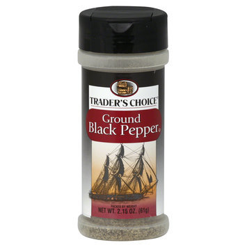 Trader's Choice Black Pepper, Ground, 2.15 oz (61 g) - SPECIALTY BRANDS, INC.