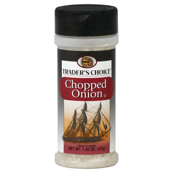 Trader's Choice Onion, Chopped, 1.63 oz (47 g) - SPECIALTY BRANDS, INC.