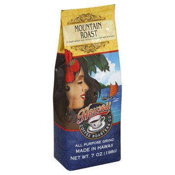 Hawaiian Isles Kona Coffee Co. Coffee, All Purpose Grind, Mountain Roast, 7 oz (198 g)