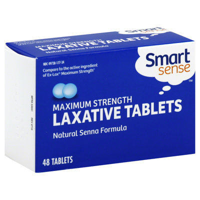 Kmart Corporation Laxative Tablets, Maximum Strength, Tablets, 48 tablets