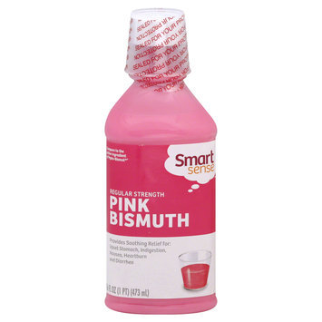 Kmart Corporation Pink Bismuth, Regular Strength, 16 fl oz (1 pt) 473 ml