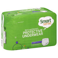 Kmart Corporation Underwear, Protective, Men's and Women's, Moderate Absorbency, Large, 18 underwear