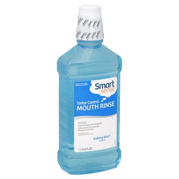 Smart Sense Mouth Rinse, Tartar Control, Iceberg Blue Flavor, 33.8 fl oz (1 lt) - KMART CORPORATION