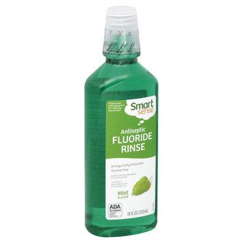 Smart Sense Fluoride Rinse, Antiseptic, Mint Flavor, 18 fl oz (532 ml) - KMART CORPORATION