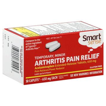 Smart Sense Arthritis Pain Relief, Temporary, Minor, 650 mg, Caplets, 50 caplets - KMART CORPORATION