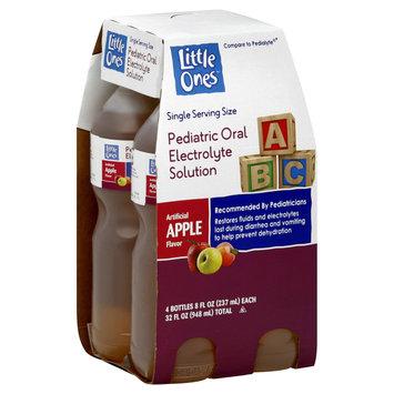 Little Ones Electrolyte Solution, Pediatric Oral, Apple Flavor, 4 8 fl oz (237 ml) bottles [32 fl oz (948 ml)] - KMART CORPORATION