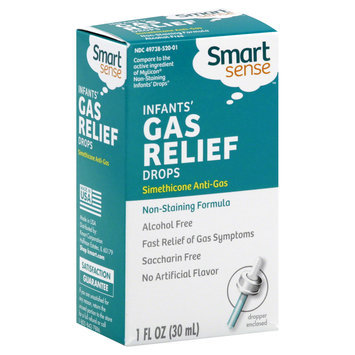 Kmart Corporation Smart Sense Gas Relief, Infants', Drops 1 fl oz (30 ml)