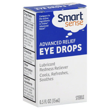 Smart Sense Eye Drops, Advanced Relief 0.5 fl oz (15 ml) - BOYCE ENGINEERING
