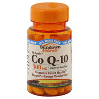 Rexall Sundown, Inc. Co Q-10, Q-Sorb, 100 mg, Softgels, 75 softgels