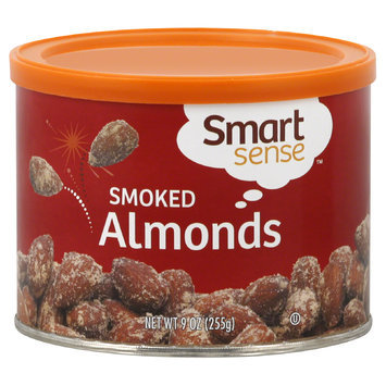 Smart Sense Almonds, Smoked, 9 oz (255 g) - mygofer