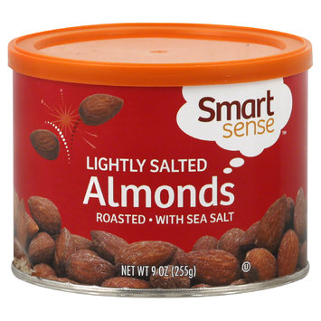 Mygofer Smart Sense Almonds, Roasted, Lightly Salted, 9 oz (255 g)