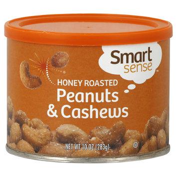 Smart Sense Peanuts & Cashews, Honey Roasted, 10 oz (283 g) - mygofer