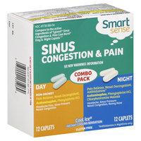Smart Sense Sinus Congestion & Pain, Day/Night, Cool Ice, 24 Caplets - KMART CORPORATION