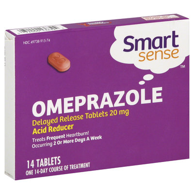 Smart Sense Omeprazole, 20 mg, Delayed Release Tablets  - KMART CORPORATION