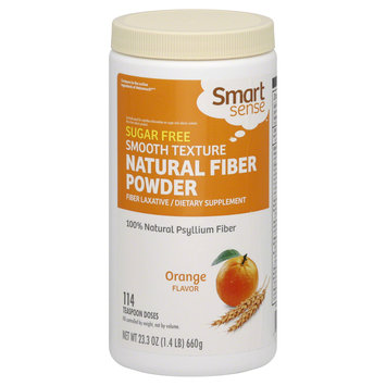 Smart Sense Natural Fiber Powder, Orange Flavor 23.3 oz (1.4 lb) 660 g - KMART CORPORATION