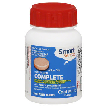 Smart Sense Cool Mint Stomach Aid 25 Count - KMART CORPORATION