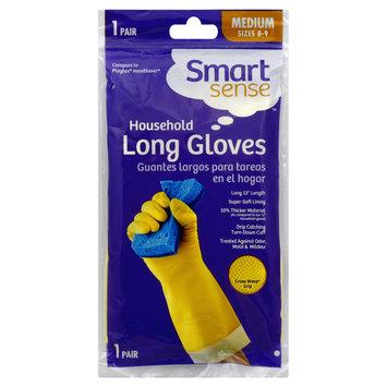 Smart Sense Gloves, Household Long, Medium Sizes 8 9, 1 pair - KMART CORPORATION