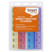 Kmart Corporation Weekly Medtime Planner, Four-A-Day, 1 planner