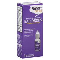 Kmart Corporation Smart Sense Ear Drops, Earwax Removal Aid, 0.5 fl oz (15 ml)
