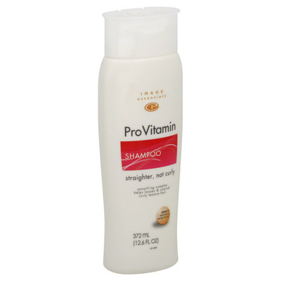 Image Essentials ProVitamin Shampoo, Straighter, Not Curly 12.6 fl oz (372 ml) - mygofer