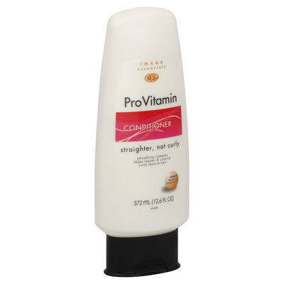 Image Essentials ProVitamin Conditioner, Straighter, Not Curly 12.6 fl oz (372 ml) - mygofer