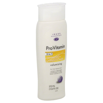 Image Essentials ProVitamin Shampoo + Conditioner, Volumizing 12.6 fl oz (372 ml) - mygofer