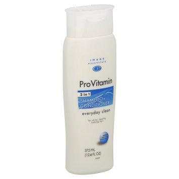Image Essentials ProVitamin Shampoo + Conditioner, Everyday Clean 12.6 fl oz (372 ml) - mygofer