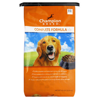 Champion Breed Dog Food, All Life Stages, Complete Formula, 40 lb (18.14 kg) - KMART CORPORATION