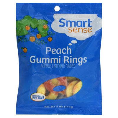 Kmart Corporation Gummi Rings, Peach, 5 oz (112 g)
