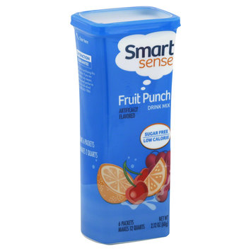 Smart Sense Drink Mix, Fruit Punch, 6 packets [2.12 oz (60 g)] - KMART CORPORATION