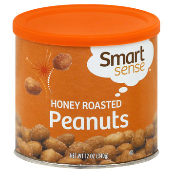 Smart Sense Peanuts, Honey Roasted, 12 oz (340 g) - mygofer