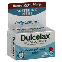 Dulcolax Stool Softener, Liquid Gel