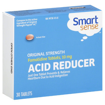 Smart Sense Acid Reducer, Original Strength, 30 Tablets - KMART CORPORATION