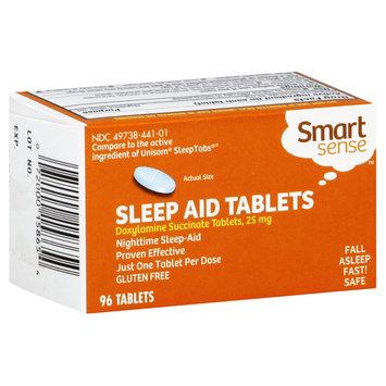 Smart Sense Sleep Aid Tablets, 25 mg, Tablets, 96 tablets - KMART CORPORATION