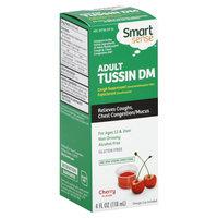 Smart Sense Tussin DM, Adult, Cherry Flavor, 4 oz - KMART CORPORATION