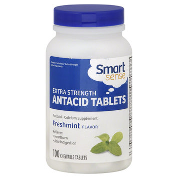 Mygofer Smart Sense Antacid Tablets, Extra Strength, Freshmint Flavor, 100 tablets