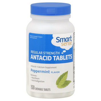 Mygofer Smart Sense Antacid Tablets, Regular Strength, Peppermint Flavor1, 50 tablets