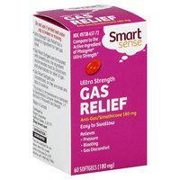 Smart Sense Gas Relief, Ultra Strength, 180 mg, 60 Softgels - KMART CORPORATION