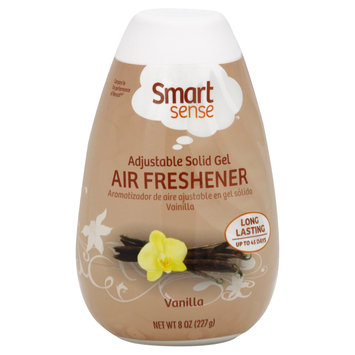 Smart Sense Air Freshener, Adjustable Solid Gel, Vanilla, 8 oz (227 g) - mygofer