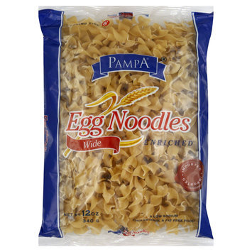 Pampa Egg Noodles, Wide, 12 oz (340 g) - SHREERAM OVERSEAS