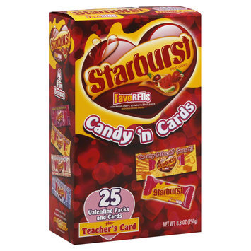 Starburst Valentine's Day Packs and Assorted Stickers