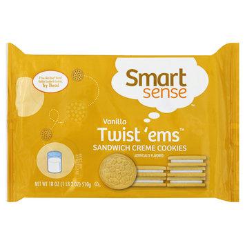 Smart Sense Twist 'Ems Sandwich Creme Cookies, Vanilla